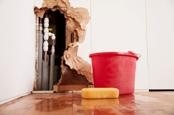 Winter Water Damage: What To Do When Pipes Burst In Your Summer Home