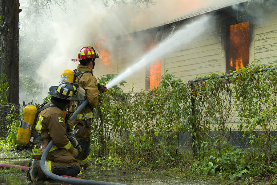 How Much Water is Used to Put Out a House Fire?